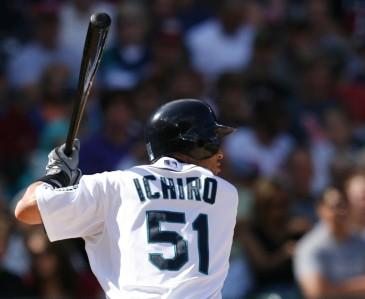 Ichiro back turned