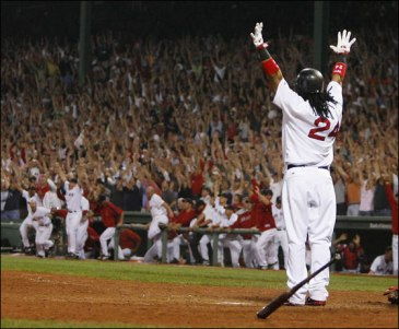 Manny Hands Up for Real