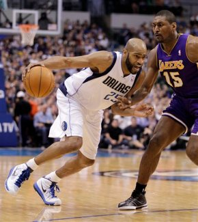Championing Dallas' Second Unit, Vince Carter is Heating Up